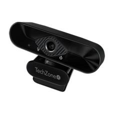 TECHZONE - Cámara Web, TechZone, TZCAMPC02, USB, 1080p, 30 FPS, Micrófono