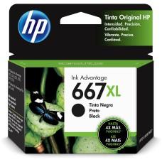 HP - Cartucho de Tinta, HP, 3YM81AL, 667XL, Negro