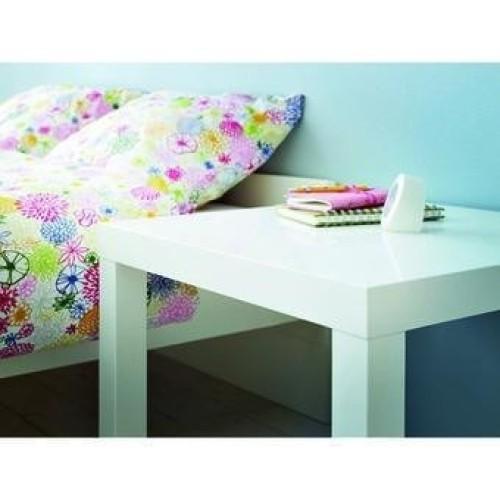 Mesa lateral minimalista ikea modelo lack blanca - Ikea mesa blanca ...