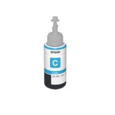 Botella de Tinta, Epson, T673220-AL, 673, Cian