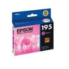 EPSON - Cartucho de Tinta, Epson, T195320-AL, 195, Magenta