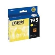 EPSON - Cartucho de Tinta, Epson, T195420-AL, 195, Amarillo