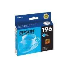 EPSON - Cartucho de Tinta, Epson, T196420-AL, 196, Cian