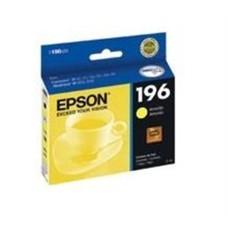 EPSON - Cartucho de Tinta, Epson, T196420-AL, 196, Amarillo