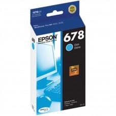 EPSON - Cartucho de Tinta, Epson, T678220-AL, 678, Cian