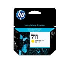 HP - Cartucho de Tinta, HP, CZ132A, 711, Amarillo