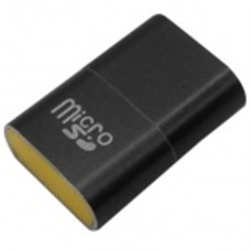 BROBOTIX - Lector USB 2.0, Brobotix, 170188N, Micro SD, Negro