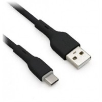 Cable USB 2.0, Brobotix, 963196, Cargador, Datos, 1 m, PVC, Negro