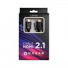 Cable de Video, Naceb, NA-0122, HDMI, 3 m, Negro