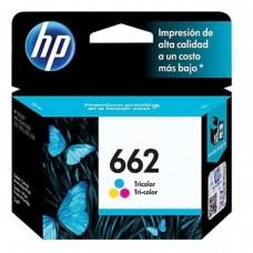 HP - Cartucho de Tinta, HP, CZ104AL, 662, Color