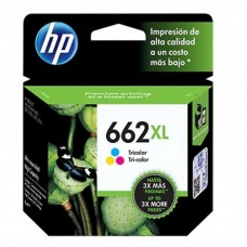 HP - Cartucho de Tinta, HP, CZ106AL, 662 XL, Color, Alto Rendimiento