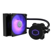 COOLER MASTER - Disipador, Cooler Master, MLW-D12M-A18PC-R2, Líquido, ML120L, RGB