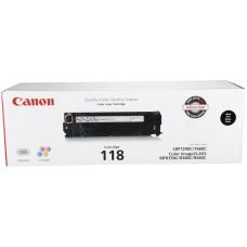 CANON - Cartucho de Tóner, Canon, 2662B001AA, 118, Negro