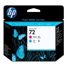 HP - Cabezal de Impresión, HP, C9383A, 72, Magenta y Azul