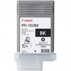 CANON - Cartucho de Tinta, Canon, 0895B001AA, PFI-102BK, Negro