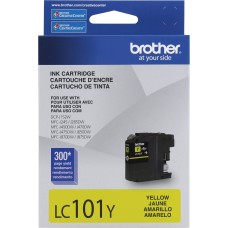 BROTHER - Cartucho de Tinta, Brother, LC101Y, Amarillo