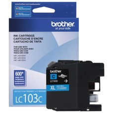 BROTHER - Cartucho de Tinta, Brother, LC103C, Cian