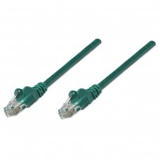 Cable de Red, Intellinet, 342476, CAT6, UTP, 1 m, CCA, Verde