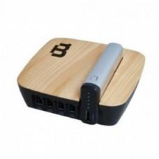 BLACKPCS - Batería Portátil, Blackpcs, EPBS6-4000/5V, 4000 mAh, Plateado