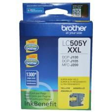 BROTHER - Cartucho de Tinta, Brother, LC505Y, Amarillo