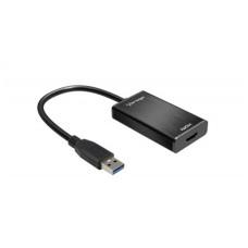 Adaptador de Video, Vorago, ADP-204, USB 3.0, HDMI, 1080p, Negro