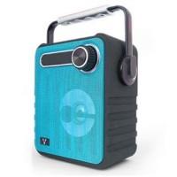 Bocina, Vorago, BSP-200-BL, Bluetooth, USB, 3.5 mm, Azul