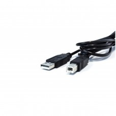 VORAGO - Cable de Datos, Vorago, CAB-104, USB A, USB B, 1.5 m, Negro