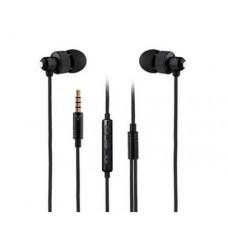 Audífonos con Micrófono, Vorago, EP-304, 3.5 mm, Negro