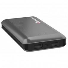 Batería Portátil, Blackpcs, EPBGY11-15000, Power Bank, 1500 mAh, LED, Gris