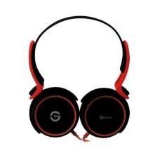 Audífonos con Micrófono, Getttech, GH-2540G, Rythm, 3.5 mm, Rojo