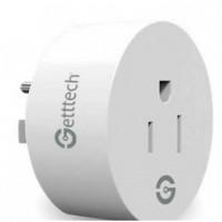 Enchufe Inteligente, Gettech, GSW-71002, Wifi, 2 Piezas