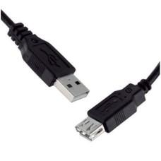GETTTECH - Cable de Datos, Getttech, JL-3520, USB A, Extensión, 1.5m, Negro