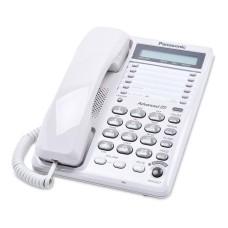 PANASONIC - Teléfono, Panasonic, KX-TS108MEW, Alámbrico, LCD, Altavoz, Blanco
