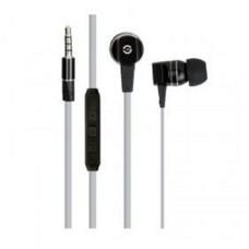 Audífonos con Micrófono, Getttech, MI-2140G, 3.5 mm, Negro, Gris