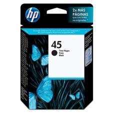 HP - Cartucho de Tinta, HP, 51645AL, 45, Negro