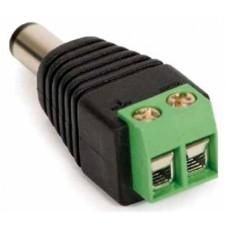 Adaptador de Energía, QIAN, QAY-60306, Macho, Para CCTV, 1 Pieza