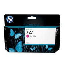 HP - Cartucho de Tóner, HP, B3P20A, 727, Magenta, 130 ml