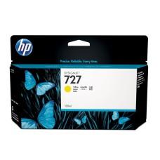 HP - Cartucho de Tóner, HP, B3P21A, 727, Amarillo, 130 ml