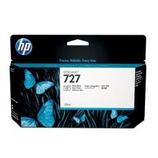 HP - Cartucho de Tóner, HP, B3P23A, 727, Negro Fotográfico, 130 ml