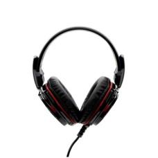 YEYIAN - Audífonos con Micrófono, Yeyian, YH2000, Tempest, LED, 3.5 mm, USB, Negro, Rojo
