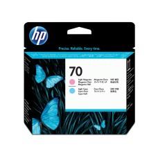 HP - Cabezal de Impresión, HP, C9405A, 70, Cian Claro y Magenta Claro