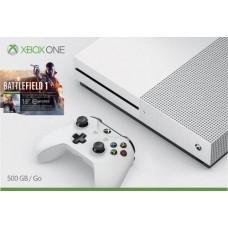 MICROSOFT - Xbox One S 500gb Slim Battlefield 1 Nuevo Y Sellado 4k