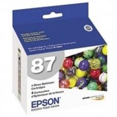 EPSON - Cartucho de Tinta, Epson, T087020, Optimizador de Brillo, 11 ml
