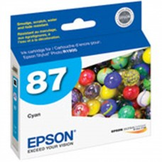 EPSON - Cartucho de Tinta, Epson, T087220, 87, Cian, Fotográfico
