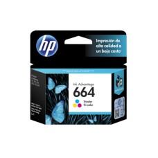 HP - Cartucho de Tinta, HP, F6V28AL, 664, Color