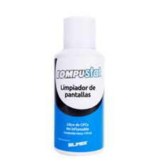 Limpiador Antiestático, Silimex, COMPUSTAT, Para Pantallas, 170 ml