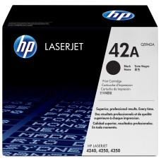 HP - Cartucho de Tóner, HP, Q5942A, 42A, Negro