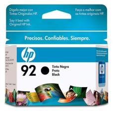 HP - Cartucho de Tinta, HP, C9362WL, 92, Negro