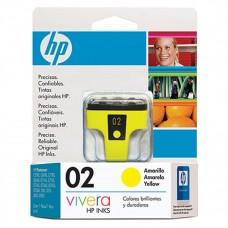 HP - Cartucho de Tinta, HP, C8773WL, 02, Amarillo