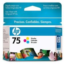 HP - Cartucho de Tinta, HP, CB337WL, 75, Color